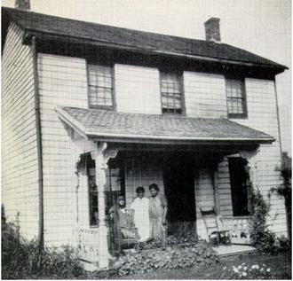 Peter Bruner - Image: Home where Peter Bruner raised his family