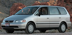 1996 Honda Odyssey taken at Valley of Fire Par...