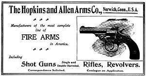 Hopkins & Allen - The Hopkins an Allen Arms Co. - Shotguns, Rifles and Revolvers - 1904