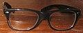 Horn-rimmed Rayban glasses.JPG