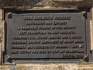 John Ainsworth Horrocks - John Horrocks monument at Penwortham, South Australia