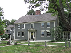 Hosmer Homestead - Image: Hosmer Homestead, Concord MA
