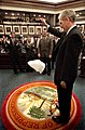 """House Sergeant at Arms Earnest W. """"Earnie"""" Sumner dropping handkerchief in the chamber - Tallahassee, Florida.jpg"""
