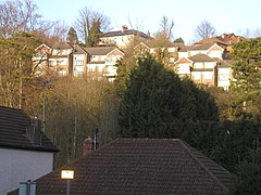 Houses above the A22, Whyteleafe (geograph 2309246).jpg