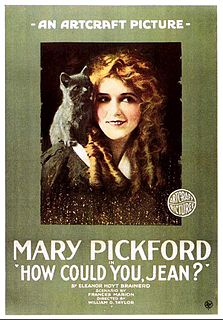 <i>How Could You, Jean?</i> 1918 film