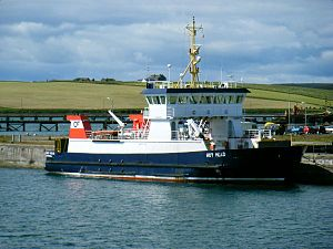 Orkney Ferries - Hoy Head at Lyness