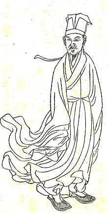Song Dynasty Calligrapher And Filial Son Huang Tingjian