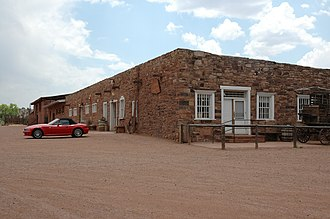 Hubbell Trading Post National Historic Site - Image: Hubtradepost