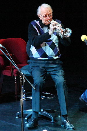 Humphrey Lyttelton - Image: Humphrey Lyttleton playing trumpet Lyric Theatre 25n 2007c