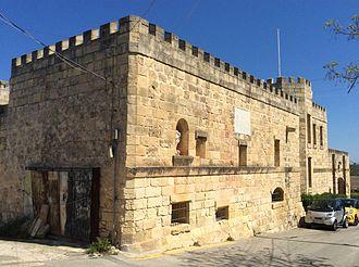 Wardija - Grand Master Rohan hunting lodge, now the Castello dei Baroni
