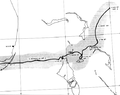 Hurricane Betsy 1965 Bahamas and Florida Track.png