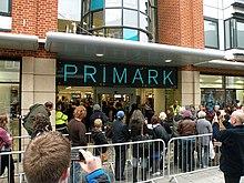 Negozio Primark a Cambridge.