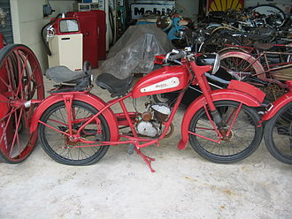 Hurtu - A very rare Hurtu motorcycle