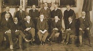 Károly Huszár - Image: Huszár kormány 1919 32