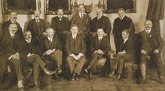 Károly Huszár - The cabinet of Huszár