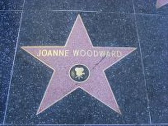 Joanne Woodward - Woodward's Hollywood Walk of Fame star