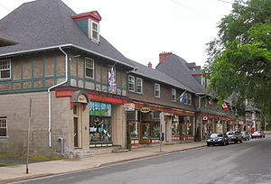 Richmond, Nova Scotia - The Hydrostone District was built to replace buildings devastated by the Halifax Explosion.