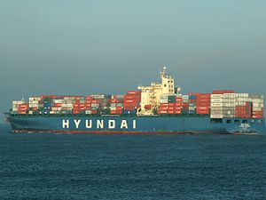 Hyundai Freedom p2, leaving Port of Rotterdam, Holland 14-Jan-2006.jpg