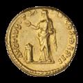 INC-3012-r Ауреус. Антонин Пий. Ок. 138 г. (реверс).png
