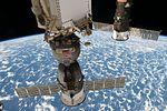 ISS-51 Soyuz MS-03 and Progress MS-05 spacecrafts.jpg
