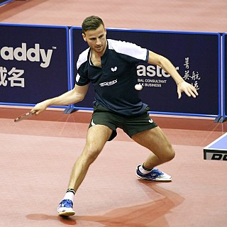 Tiago Apolónia Portuguese table tennis player