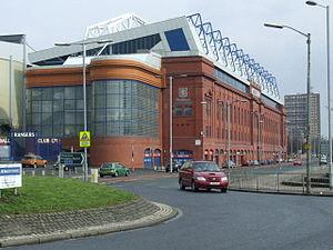 Ibrox, Glasgow - Ibrox Stadium