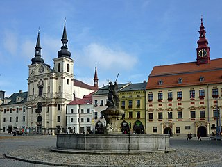 Jihlava City in Czech Republic