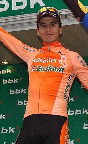 Igor Antón - Antón at the 2008 Euskal Bizikleta.