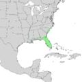 Ilex cassine range map 2.png