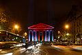 Illumination de l'église de la Madeleine, 14 déc 2013.jpg