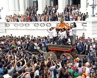 Yenya - Chariot procession