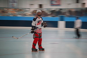 Roller hockey - Inline Hockey is played on inline skates