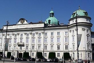 Hofburg, Innsbruck - Image: Innsbruck royal palace