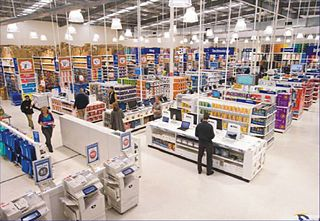 Officeworks chain of office supply stores