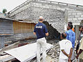 Inspecting the damage from 2004 tsunami. Aceh, Indonesia, 2005. Photo- AusAID (10705313325).jpg