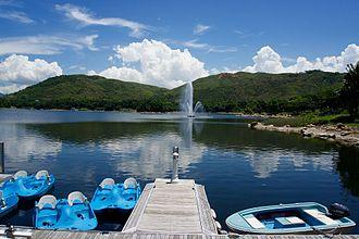 Inspiration Lake - Lake and fountain
