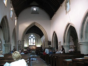 Betchworth - Gothic architecture Church interior
