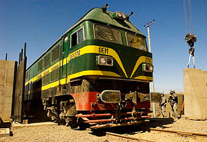 Iraqi Republic Railways - Image: Iraq; diesel locomotive DEM2716