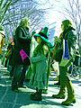 Irish Green, St Patrick's Day Parade in Omotesando, Tokyo.jpg