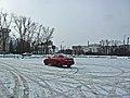 Irkutsk. February 2013. Barguzin, regional court, bus stop Volga, Diagnostic Center. - panoramio (5).jpg
