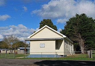 Irrewillipe - Memorial Hall at Irrewillipe, 2012
