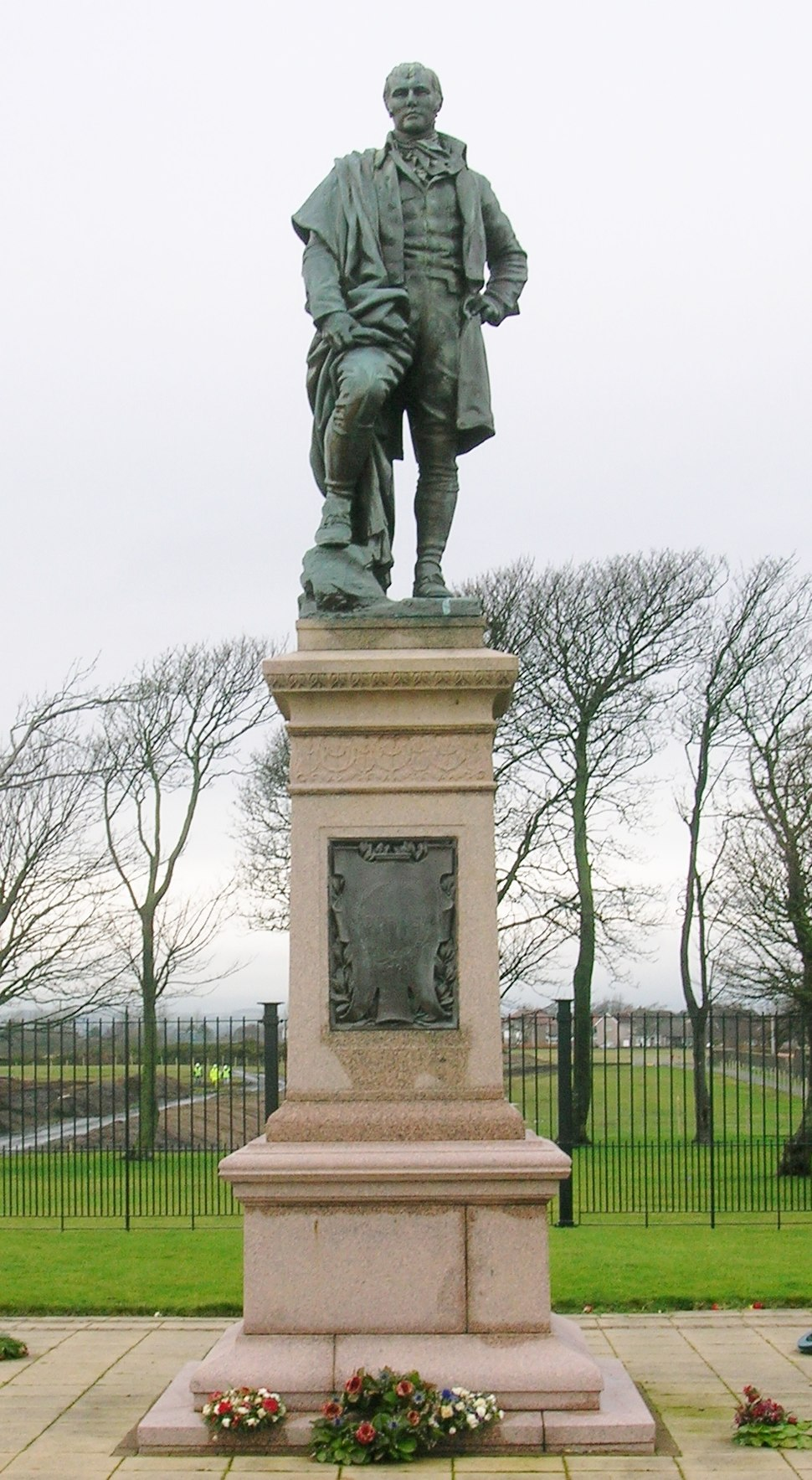 Irvine Burns Monument