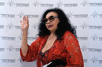 Isabel Sarli - Sarli in the Guadalajara International Film Festival, 2008
