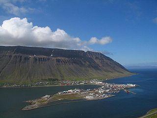 Ísafjörður Town in Northwest Constituency, Iceland