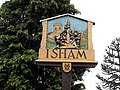 Isham Village Sign - geograph.org.uk - 1373944.jpg