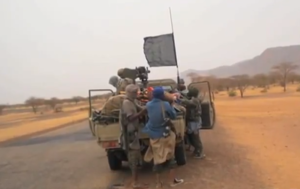 Northern Mali conflict - Islamist fighters in northern Mali
