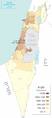 Israel population density 2014 Hebrew.png
