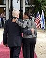 Israeli President Peres Welcomes Ambassador Rice (14152374143).jpg