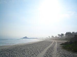 Saquarema - Image: Itaúna Beach