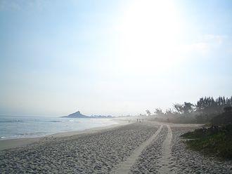 Saquarema - Itaúna Beach, near Itaúna Inn.